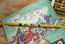 1949 Squadra VENEZIA Pastello Ditta Augusto Bo Matite Illustrate Il Calcio