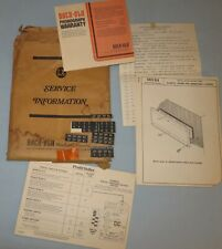 Rock-Ola Model 459-100 and 460-160 Service and parts Manuals and More