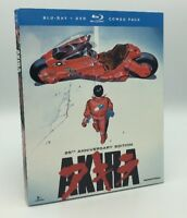 Akira (Blu-ray/DVD, 2013; 2-Disc Set, 25th Anniversary Ed.) NEW w/ Slipcover