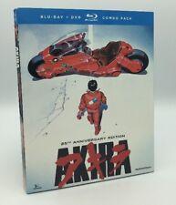 Akira (Blu-ray/DVD, 2013; 2-Disc Set, 25th Anniversary Ed.) NEW w/ Slipcover