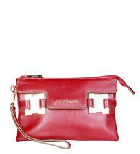 Sacs et sacs à main pochettes rouges en cuir pour femme