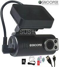 Snooper DVR-1HD Veicolo Auto Dashcam FALSO Incidente Registratore Videocamera + Scheda SD 8GB