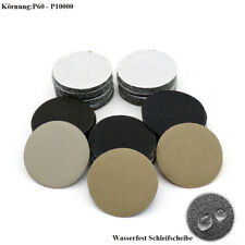 50mm Klett Schleifscheibe Exzenter Schleifpapier Nass und Trocken Haftscheibe