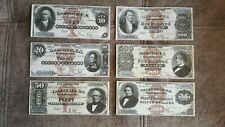 High quality COPIES with W/M United States Silver banknotes 1880 FREE SHIPPING !