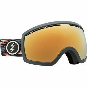 Elektrisch Visual EG2.5 Nuevo Rust Snowboarding Goggles (Brose / Gold Chrome)