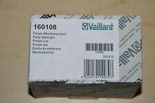 VAILLANT 160108 16-0108 MEMBRANPUMPE VC VCW 110-282 MEMBRAN PUMPE NEU