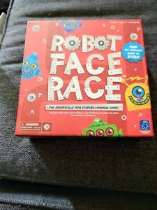 Robot Face Race Game Complete Ages 4+ Finding Matching Educational