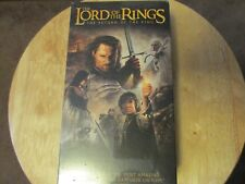 "THE LORD OF THE RINGS  ""Return of the King""  VHS Edition  DOLBY SURROUND NEW NIP"
