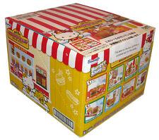 Rare! Re-ment Miniature Hello Kitty Hamburger Shop Full Set of 8 pcs