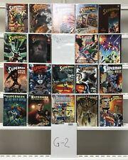 Superman Graphic Novels  Dc 20 Lot Comic Book Comics Set Run Collection Box