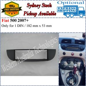 Fascia facia Fits Fiat 500/500C 2008+ Single One 1 DIN Dash Kit