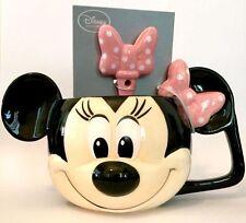 Disney Parks Minnie Mouse Mug and Spoon Set NEW