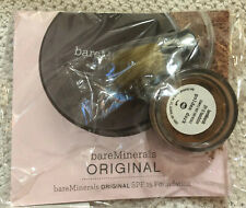 Bare Escentuals BareMinerals Golden Dark Foundation Sample Original With Kabuki