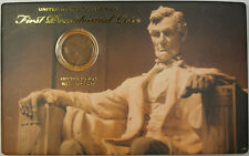1909 Lincoln Wheat Penny First Presidential Coin 1C