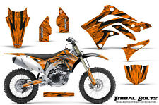 KAWASAKI KXF450 KX450F 12-15 CREATORX GRAPHICS KIT DECALS TRIBAL BOLTS O