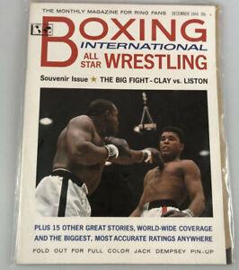 Boxing International All Star Wrestling THE BIG FIGHT Muhammad Ali-Sonny Liston