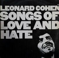 Leonard Cohen-Songs Of Love And Hate Vinyl LP.1971 CBS S 69004.Joan Of Arc+