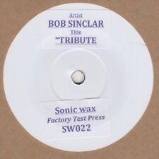 Bob Sinclar  Tribute 7 Sonic Wax Test Press 022 Soul Northern Motown