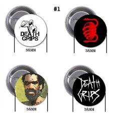 Death Grips, experimental hip hop, punk, RNB - 4 chapas, pin, badge, button