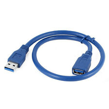 P808 50cm USB 3.0 A Male to Female Extension Data Sync Transfer Cable Data Cable