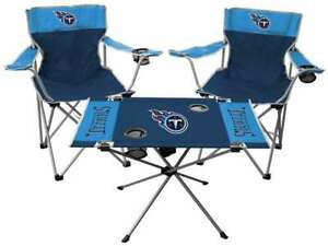 Tennessee Titans  3 Piece Tailgate Kit - 2 Chairs - 1 Table