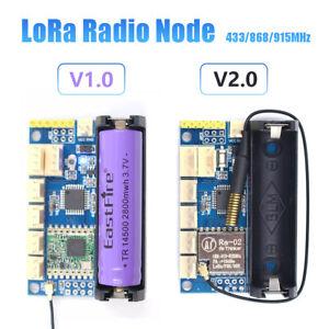433/868/915MHz LoRa Radio Node V1.0 V2.0 Wireless Module ATmega328P Ra-02 RFM