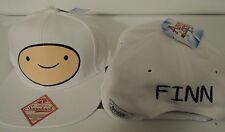 Adventure Time Finn and Jake Big Face Finn Cartoon Snap Back Hat Nwt