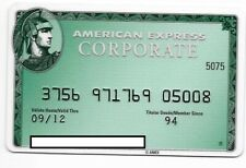 American Express, Spain, magnetic credit card # cc-13