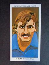 The Sun Soccercards 1978-79 - Steve Hunt - Coventry City #833