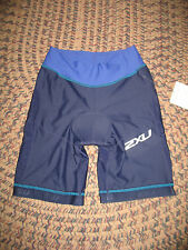 2Xu Long Distance Tri Shorts Women's Navy Northern Lights New W Tags! X Small