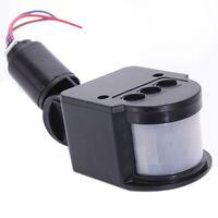 Lampe de securite LED infrarouge capteur PIR Detecteur de mouvement lampe mu b1n