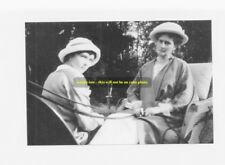 mm392 - Grand Duchess Tatiana & mother Czarina Alexandra 1914 Romanov-photograph