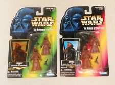 Star Wars POTF Red AND Green Card Versions Jawas 1995-1998