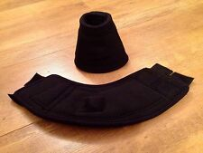 Equestrian, Bell Boot, Size Small, Black, New