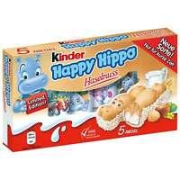 KINDER HAPPY HIPPO (NOCCIOLA) CONFEZIONE DA 5 PEZZI LIMITED EDITION 2020