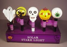 Halloween Solar Stake Lights 5  Home  Pathway Outdoor yard decorations  New