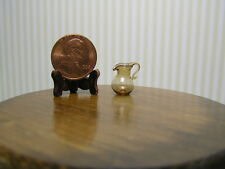 """Miniature Dollhouse Small Amber Pitcher 1:24 1/2"""" Scale"""