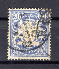 Bavaria Firmenlochung Perfin V on 57 Impeccable Postmarked (B4939