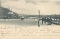 NEW YORK CITY - The Speedway and Highbridge - udb - 1905