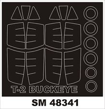 Montex 1/48 canopy masks for Special Hobby T-2 Buckeye - SM48341