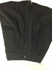 Studio Women Black Shorts Size 10 100% Cotton Made In Oman Bin62#40
