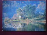 POSTCARD CUMBRIA GRASMERE - VIEW OVER THE LAKE