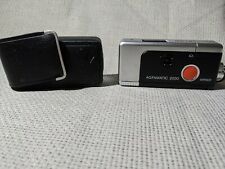 Agfa Agfamatic 2000 Flash Pocket 110 Film Camera With Case