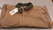 FILSON MADE IN USA  TIN JACKET OILED  item 10007 .TIN CLOTH SIZE large  -175