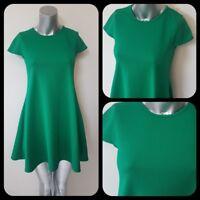 Ladies RETRO Green Dress Sz 6/8 60s Style Mod Swing Retro Festival (2)