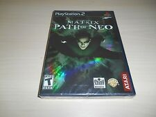 The Matrix Path of Neo Brand New Factory Sealed PS2 Playstation 2 Black Label