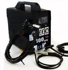 Mig-100 Flux Core Welding Machine No Gas Welder + Face Mask 110V Cooling Fan