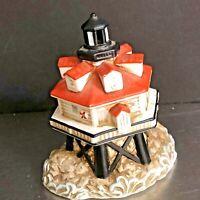 Lefton Lighthouse Figurine Thomas Point 1996 Maryland Historic Site USA Collect