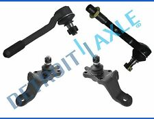 NEW 4pc Front Suspension Tie Rod & Ball Joint Set for 1996-2002 Toyota 4Runner
