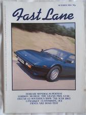 Fast Lane Oct 1984 Ferrari Mondial, Ford Fiesta XR2
